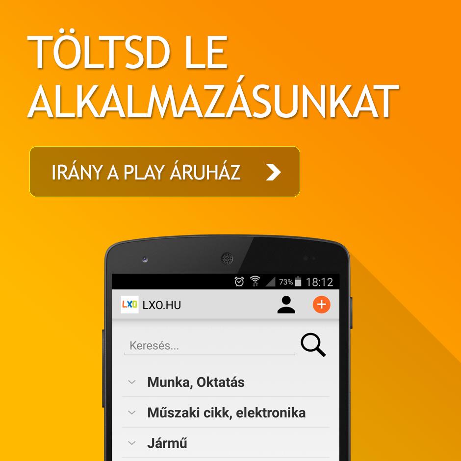 LXO Android alkalmazás letöltése