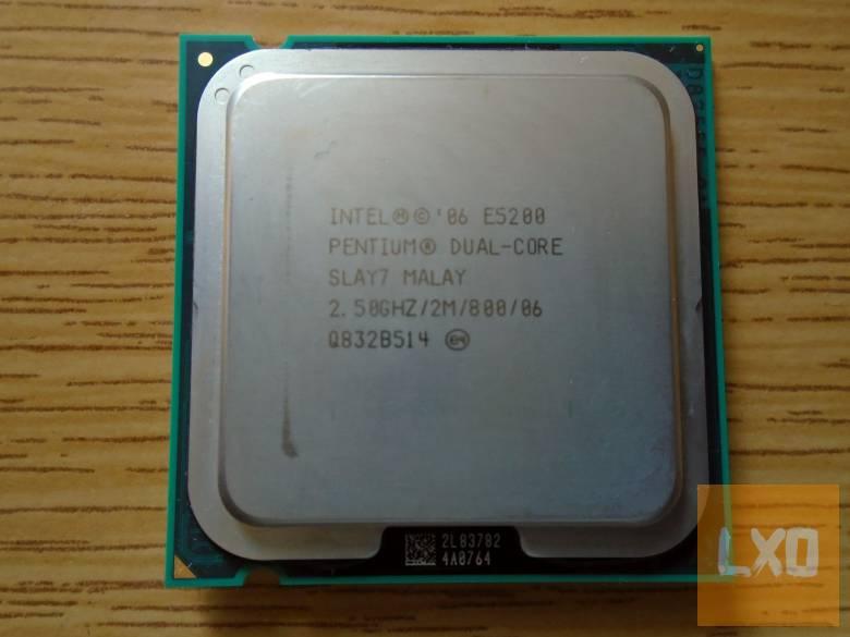 Intel Pentium processzor 2,5GHZ apróhirdetés