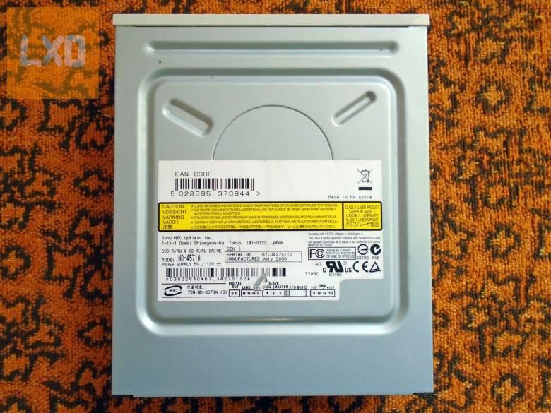 Sony NEC DVD-RW PATA apróhirdetés