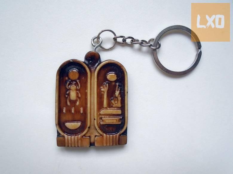 Egyiptomi scarabeus-os kulcstartó apróhirdetés