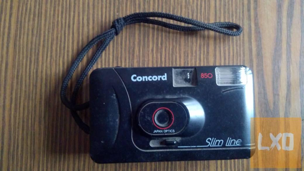Concord 850 Slim Line analóg fényképezőgép eladó! apróhirdetés