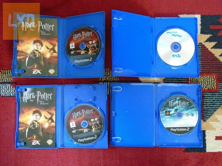 PS2 Harry Potter játékok 1db apróhirdetés