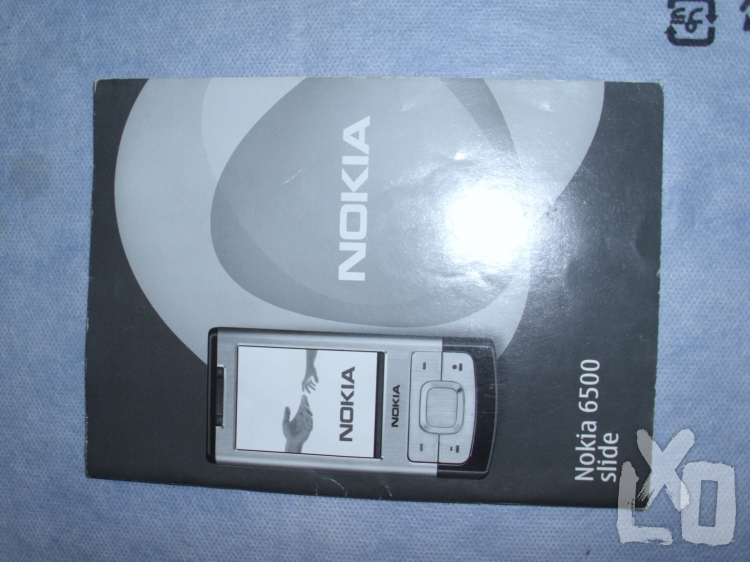 Nokia 6500 Slide, készüléktájékoztató, valamint telepítő lemez eladó. apróhirdetés