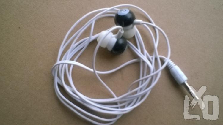 Fülhallgató PLUGZ 3.5mm jack, Fehér apróhirdetés
