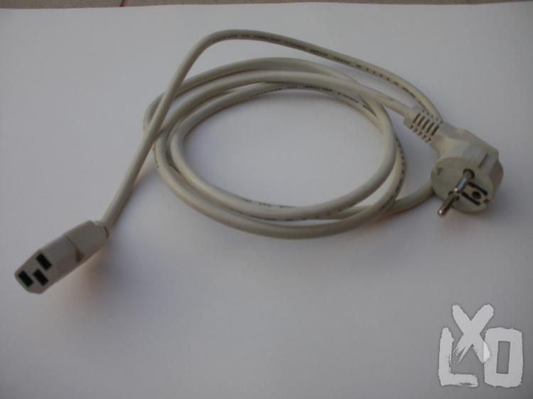 Uj Hálózati kábel fehér 400.-Ft/db apróhirdetés