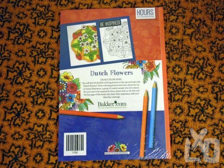 Felnőtt virágos színezőkönyv, 50 rajzzal apróhirdetés