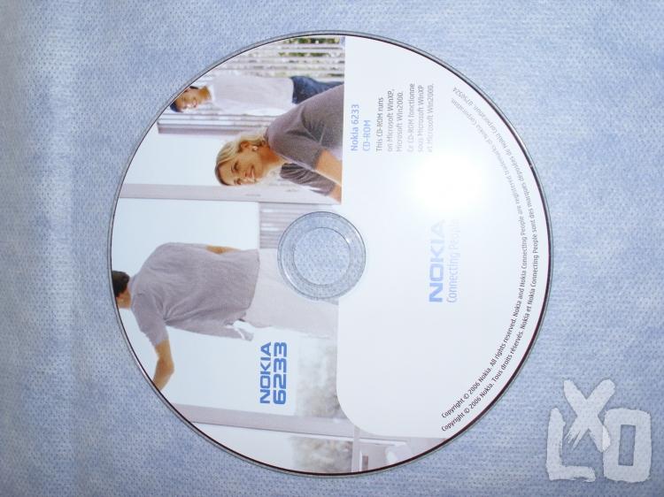Vadonatúj, NOKIA 6233 telepítő lemez eladó.  apróhirdetés
