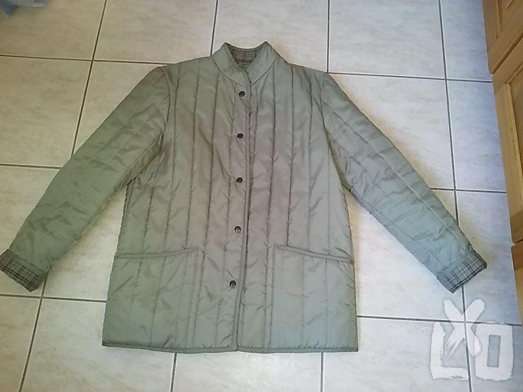 StMichael kekizöld, 40-42-es steppelt kabát. apróhirdetés